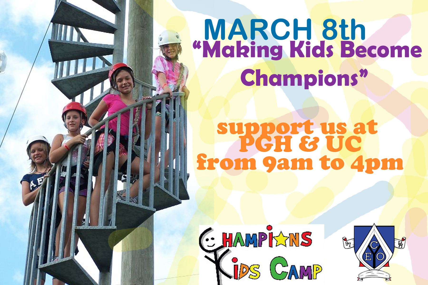 Champions Kids Camp Charity Bake Sale | UH CEO